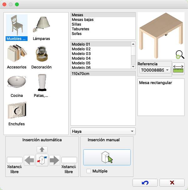 Quick3DPlan - Características de Quick3DPlan Pro para Mac. Programa ...