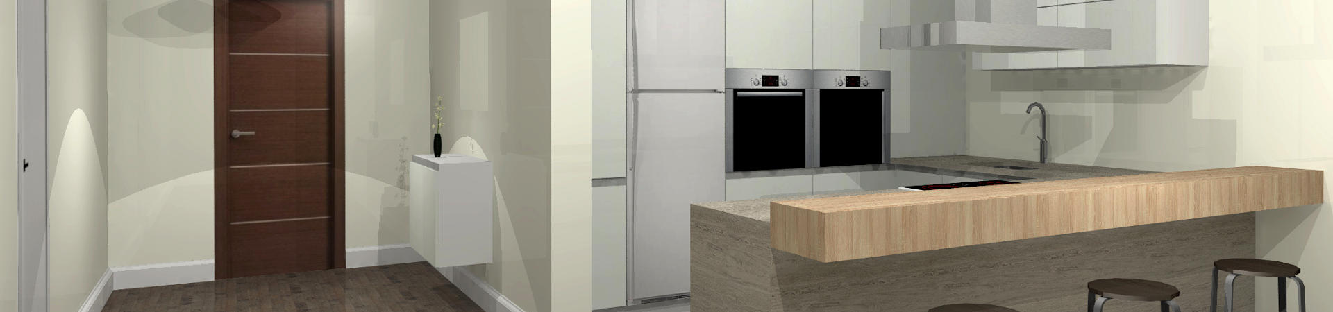 Diseos De Cocinas En 3d. Latest Diseo Banos Coslada Madrid With ...